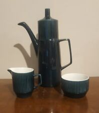 Impact British Anchor Staffordshire Coffee Pot Sugar Bowl & Milk Jug  (pt39)