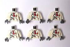 LEGO 6 torse Corps pour figurine figure Zombie Monstre Chef Cook Baker Halloween