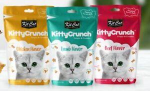 Kit Cat Kitty Crunch Cat Treats AU STOCK 60g