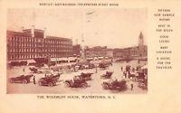 The Woodruff House, Watertown, N.Y., Early Postcard, Used in 1906