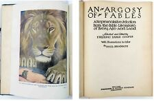 1921 AN ARGOSY OF FABLES; F.T. COOPER; 12 PAUL BRANSOM COLOR-PLATES