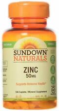 Sundown, Zinc Gluconate 50mg Caplets, 100 count