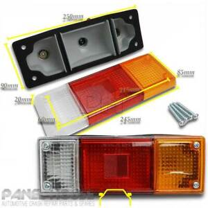 NEW Mazda BT-50 '06-14 PAIR Tray Back Tail Light Assembly Replacement Lamp LH+RH
