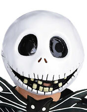 Nightmare Before Christmas Mask, Mens Jack Skellington Full Mask