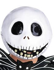 Nightmare Before Christmas Mask, Mens Jack Skellington Full Mask