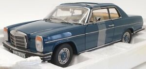 Sun Star 1/18 Scale Model Car 4574 - Mercedes Benz Strich 8 Coupe - Dark Blue