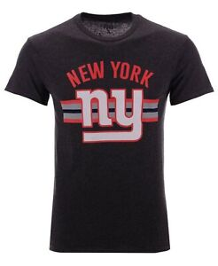 New York Giants NFL Checkdown S.S. T-Shirt 2XL/ by Junk Food/Charcoal/NWT!!