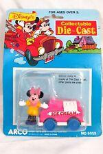 Vintage Walt Disney's ARCO Collectable Die-Cast Toy Minnie Mouse Ice Cream #6059