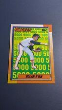 NOLAN RYAN 1990 TOPPS BASEBALL CARD # 3 B2933