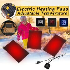 USB Electric 3 Gear Adjusted Temperature Heating Pads Thermal Heated Jacket Warm