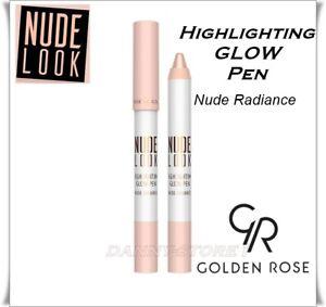 NEW Golden Rose Nude Look Highlighting Glow Pen Illuminating Make up