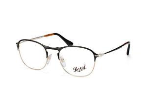 NEW ORIGINAL PERSOL 7007-V 1070 Matte Black/Gold Men Eyeglasses 51mm 19 145