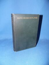 The Life of Alice Freeman Palmer by George Herbert Palmer 1908 Wellesley College