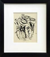 "Willem DE KOONING Lithograph ORIGINAL Ltd.EDITION ""America"" w/Frame"