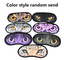 6SAC Cute Animal Sleeping Eye Mask Blindfold Relax Sleep Travel Cover Eye-shade