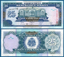 HAITI  25 Gourdes 2006 UNC  P.266 c