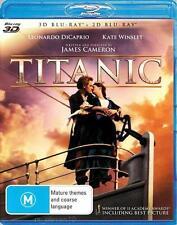 TITANIC 3D / 2D : NEW Blu-Ray
