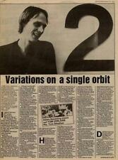 Televison Tom Verlaine UK Interview/article 1981 MM-FDIO