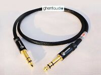 D06(3m 10ft) --- 6.35mm TRS Stereo Male to Male HIFI OFC Microphone Audio Cable