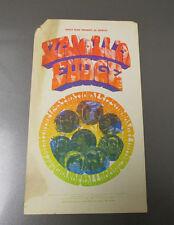 1967 Vanilla Fudge & Mc5 Original Blank Postcard Detroit Grande Ballroom Gd-