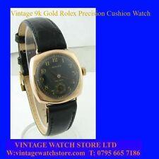 Comme neuf WW2 OFFICIERS Vintage Rolex précision Coussin Bracelet Montre 1943