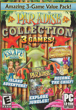 Paradise Collection 3 PC Games Window 10 8 7 XP Computer hidden object seek find