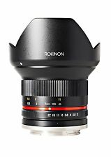 Rokinon 12mm F2.0 Ultra Wide Angle Lens for Sony E-Mount (NEX) - RK12M-E