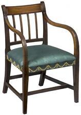 SWC-Mahogany English Regency Armchair, c. 1810
