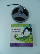PRINCIPE E IL DRAGO Walt Disney bella addormentata SUPER 8 mm vintage B/N 1111