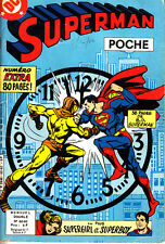 SUPERMAN POCHE DOUBLE N° 62 - 63 DE OCT-NOV 1982 SAGEDITION BON ETAT