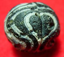 BIG!!! 24mm Ancient Mosaic glass bead 1800.y.o.+B#160