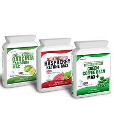 RASPBERRY KETONE MAX PLUS GARCINIA CAMBOGIA PLUS GREEN COFFEE