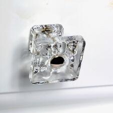 Bathroom Drawer Pulls, Glass Knobs or Cabinet Handle for Kitchen T82 - SET/9