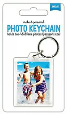 Shot2go Photo Picture Keyring Add Your Own Passport Size Photo's Free P&P