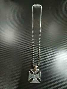 Used Bill Wall Leather BWL Silver Accessory Ball Chain Limited Extremely Rare
