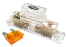 Stinger Pro MAXI 4 or 8 Gauge Gold Inline Fuse Holder Fuseholder w/ 40 Amp Fuse