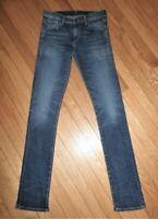 Citizens Of Humanity Agnes Long Mid Rise Slim Straight Jeans 26 ONE TEENY FLAW!