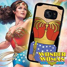 Wonder Woman DC Comics Galaxy S8 PLUS S7 S6 s5 s4 s3 Note 3 4 5 Edge Phone Case