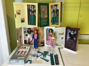 LOT Hallmark Special Edition Barbie's Ken Barbie Dolls Hollywood Box and Outfit