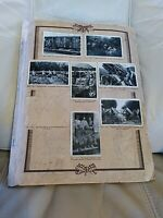 Sammelalbum  Erster Weltkrieg 1. WK, fehlendes Deckblatt, ein fehlendes Bild