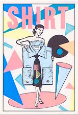 PANINI STICKERS 1985 italy  sticker - figurina  Shirt - Fiorucci style
