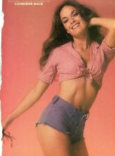 CATHERINE BACH PINUP CLIPPING CUTTING FROM A MAGAZINE 80'S DUKES OF HAZZARD