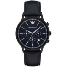 "WATCH EMPORIO ARMANI CRONOGRAFO ""HOLIDAY"" PELLE BLUE AR2481 - NEW (LIST. € 369)"