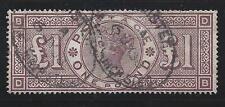 1884 Great Britain/Great Britain - Sg n° 185 Used £ 2.800