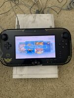 White Wii u Kiosk Version With Black Gamepad. Model: WIS-001