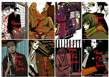 House of Five Leaves 1-8 English Manga Series Collection Set by Natsume Ono! NEW