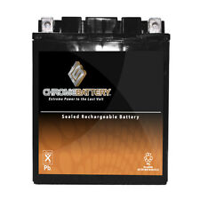 YB14A-A2 High Performance - Maintenance Free - AGM Motorcycle Battery