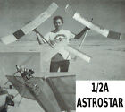 """Model Airplane Plans (FF): ½A ASTROSTAR 48¼"""" Wingspan for .049 Competition Model"""