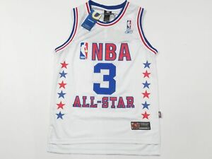 New Allen Iverson #3 Philadelphia 76ers Throwback Reebok All Star Game Jersey