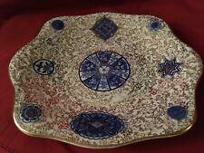 Antique 'Osaka' J Kent Ld Fenton England 1913 Rectangular Cake Platter 25.5cm